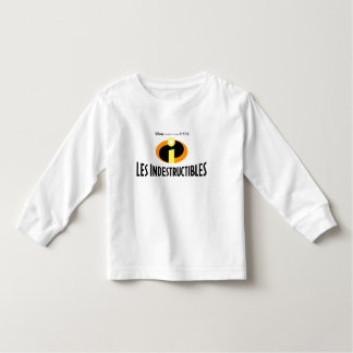 "The Incredibles ""Les Indestructibles"" French logo Toddler T-shirt"