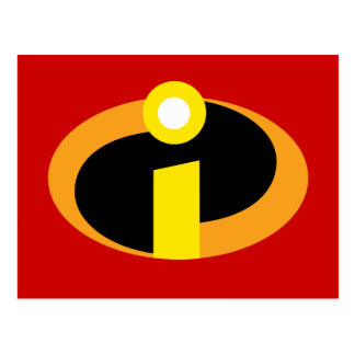 The Incredibles Logo Postcard