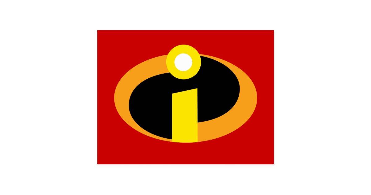 The Incredibles Logo Postcard | Zazzle.ca