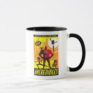 The Incredibles Poster Art Disney Mug