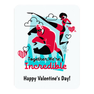 The Incredibles | We're Incredible Valentine Card