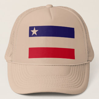 the Independent State Okinawa, Japan Trucker Hat