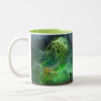 The Indescribable Cosmic Lovecraftian Horror Two-Tone Coffee Mug