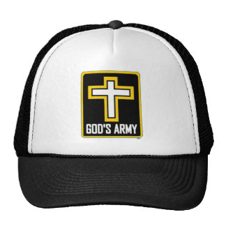 "The infamous ""God's Army"" hat. Trucker Hat"