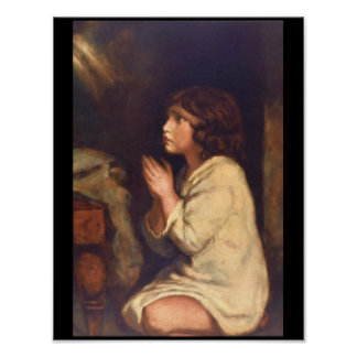 The Infant Samuel at Prayer_Portraits Poster