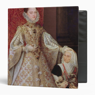 The Infanta Isabel Clara Eugenia  with the 3 Ring Binder