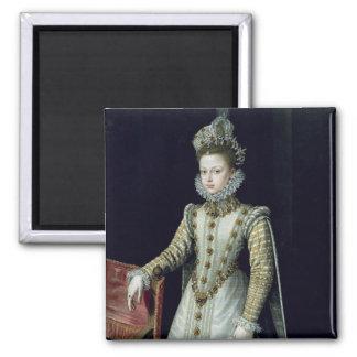 The Infanta Isabel Clara Eugenie  1579 Square Magnet