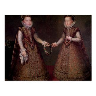 The Infantas Isabella Clara Eugenia Postcard