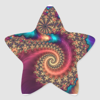 The Infinite Rainbow Star Sticker
