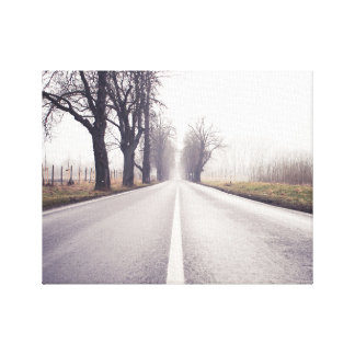 The Infinity Road Canvas Print