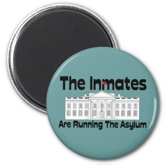 The Inmates Are Running The Asylum Magnets