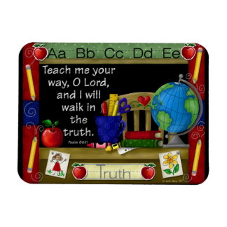 """""""The Inspired Teacher"""" Flexible Rectangle Magnet"""