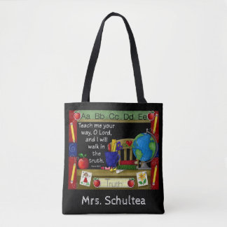 The Inspired Teacher Personalized Tote Bag