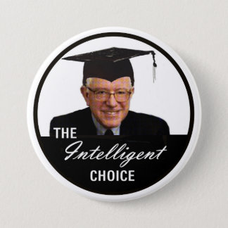The Intelligent Choice 3 Inch Round Button