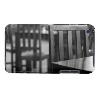 The interior of a pub barely there iPod case