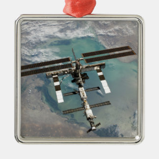 The International Space Station Metal Ornament