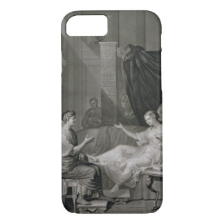 The Interview of Augustus and Cleopatra, engraved iPhone 7 Case