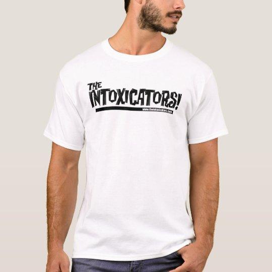 The Intoxicators! Lost Tiki Ringer T-Shirt