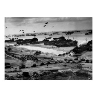 The Invasion of Normandy Poster