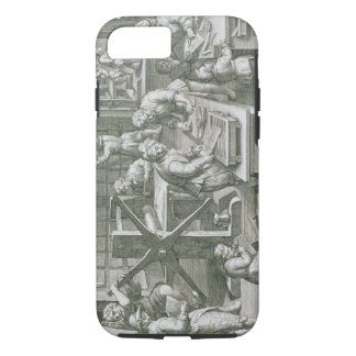 The Invention of Copper Engraving, plate 20 from ' iPhone 7 Case