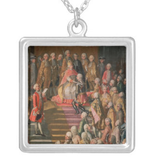 The Investiture of Joseph II Silver Plated Necklace