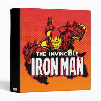 The Invincible Iron Man Graphic Binders