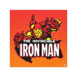 The Invincible Iron Man Graphic Canvas Print