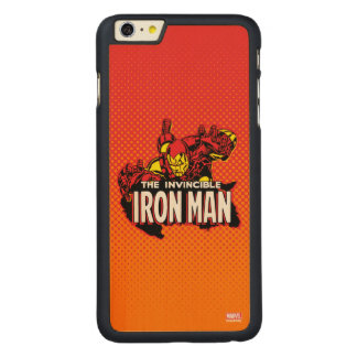 The Invincible Iron Man Graphic Carved® Maple iPhone 6 Plus Case