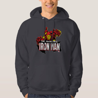 The Invincible Iron Man Graphic Hoodie