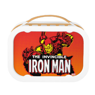 The Invincible Iron Man Graphic Lunch Box