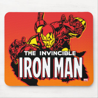 The Invincible Iron Man Graphic Mouse Pad