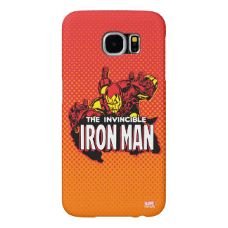 The Invincible Iron Man Graphic Samsung Galaxy S6 Cases
