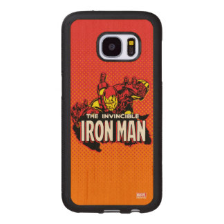 The Invincible Iron Man Graphic Wood Samsung Galaxy S7 Case