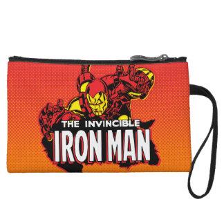 The Invincible Iron Man Graphic Wristlet Purse