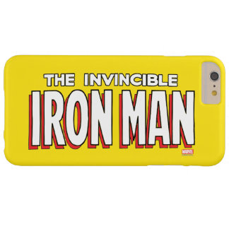 The Invincible Iron Man Logo Barely There iPhone 6 Plus Case