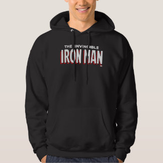 The Invincible Iron Man Logo Hoodie