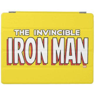The Invincible Iron Man Logo iPad Cover