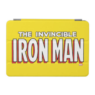 The Invincible Iron Man Logo iPad Mini Cover