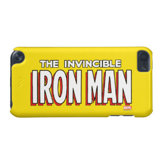 The Invincible Iron Man Logo iPod Touch 5G Cover