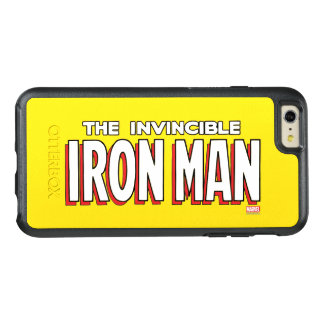 The Invincible Iron Man Logo OtterBox iPhone 6/6s Plus Case