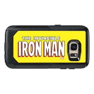 The Invincible Iron Man Logo OtterBox Samsung Galaxy S7 Case