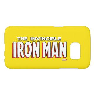 The Invincible Iron Man Logo Samsung Galaxy S7 Case