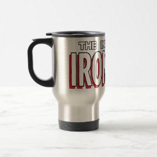 The Invincible Iron Man Logo Travel Mug