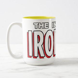 The Invincible Iron Man Logo Two-Tone Coffee Mug