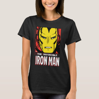 The Invincible Iron Man Retro Comic Icon T-Shirt