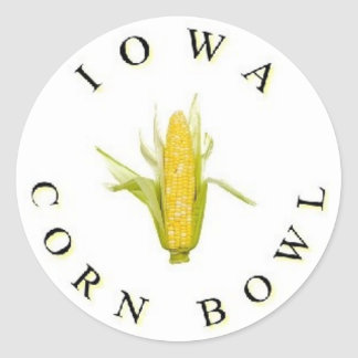 The Iowa Corn Bowl Classic Round Sticker
