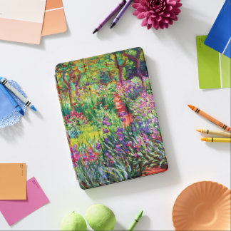 The Iris Garden at Giverny by Claude Monet iPad Pro Cover