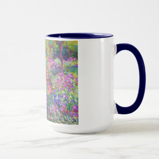 The Iris Garden at Giverny Claude Monet cool, old, Mug