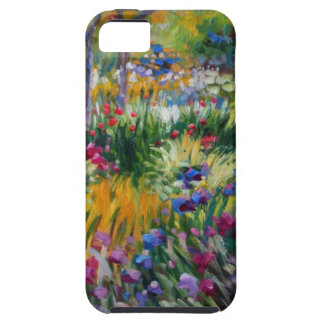 The Iris Garden by Claude Monet iPhone 5 Covers