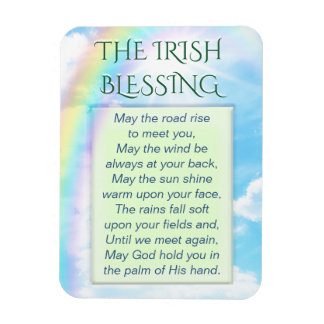 The Irish Blessing Magnet